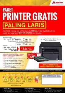PRINTER GRATIS PALING LARIS 3010