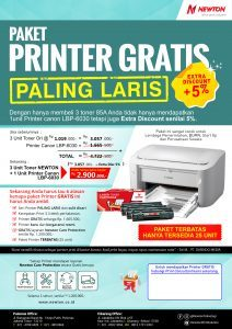 Printer Gratis Paling Laris Canon LBP 6030