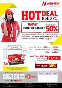 gratis printer hp laserjet M102a